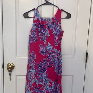 Lily Pulitzer pink patterned dress size 00